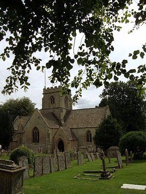 St. Kenelm's Church, Minster Lovell, Oxon
