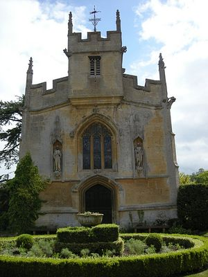 St. Mary's Chapel at the Suteley castle, Winchcombe, Glos