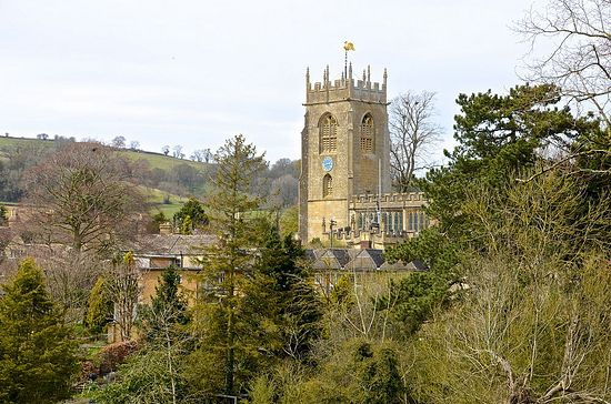 St. Peter's Church in Winchcombe, Glos