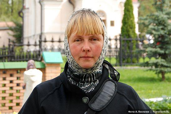 Ольга Рожнёва. Фото: А. Поспелов | Pravoslavie.Ru
