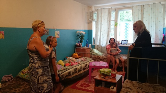 In the Koster Municipal Center of Temporary Accommodation near Voronezh