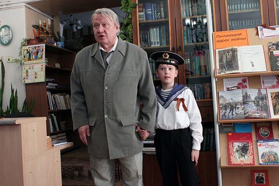 Роберт Балакшин с внуком