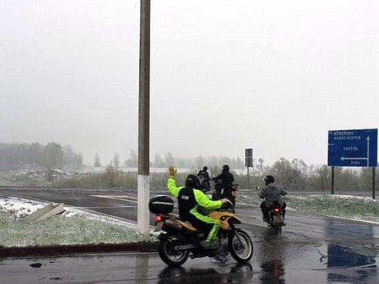 Мотоциклисты в пути