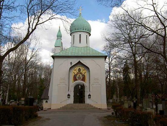 Храм Успения Пресвятой Богородицы в Праге.