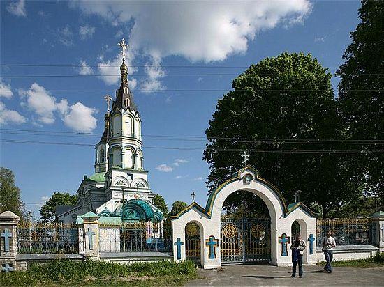 Church in honor of Prophet Elias. Chernobyl.