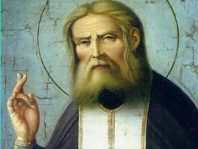 """Our Salvation is in our Will."" St. Seraphim of Sarov"