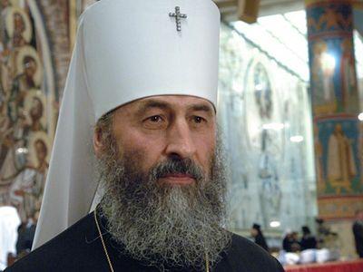 Митрополит Онуфрий призвал П.Порошенко защитить клириков Донецкой епархии от вмешательства силовиков