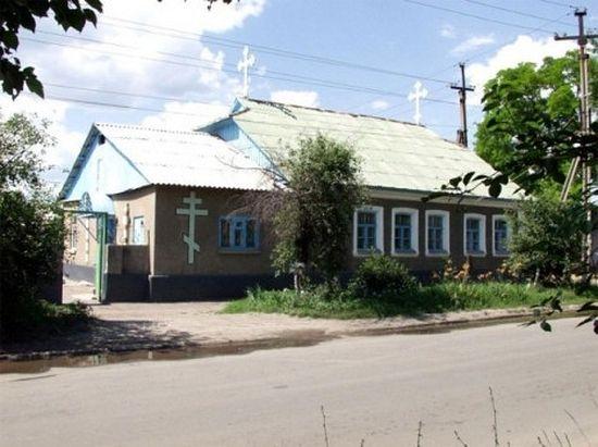 Храм светог Георгија у којем је служио о.Владимир