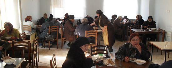 Бесплатная столовая в Тбилиси