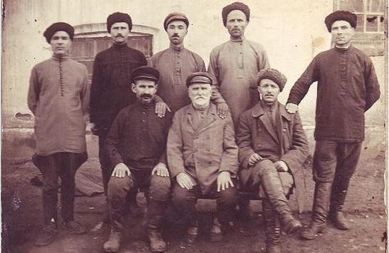Кубанские казаки в ссылке