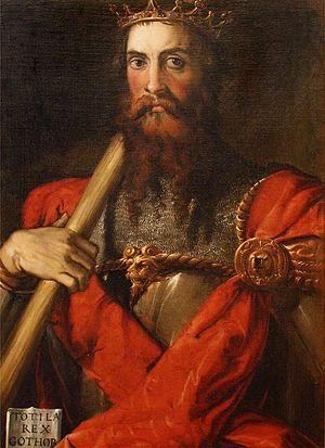 Тотила, Франческо Салвиати, 1549 г.