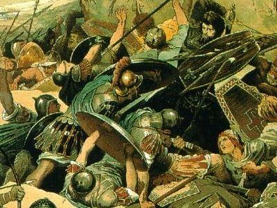 Война императора Юстиниана с восставшими остготами