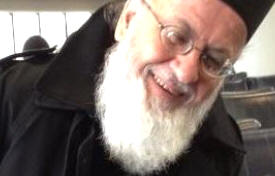 A recent picture of the now Greek Orthodox priest