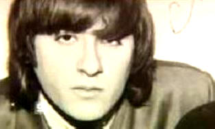 Themi pictured in 1964 as a rock star