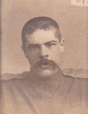 Борис Шишкин - солдат
