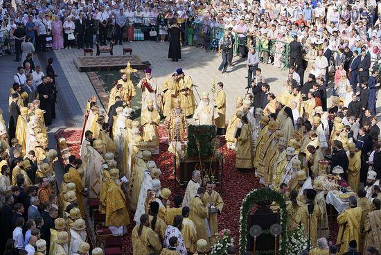 Интронизация Блаженнейшего Митрополита Киевского и всея Украины Онуфрия