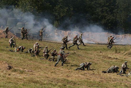 Реконструкция Гумбиненнского сражения