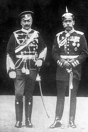 Николай ΙΙ и Вильгельм ΙΙ