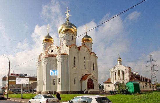 Храм Всемилостивого Спаса в Митино, построенный в рамках программы