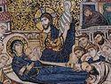Всенощное бдение в Сретенском монастыре накануне праздника Успения Божией Матери