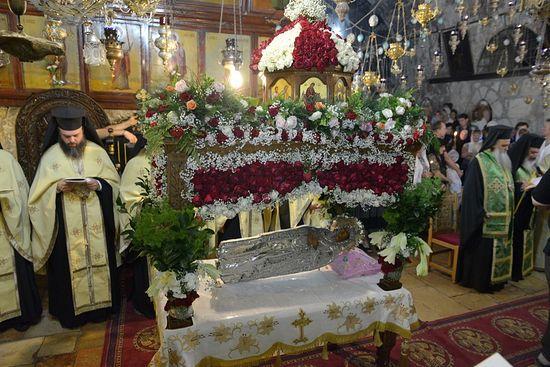 Чин Погребения Пресвятой Богородицы в Гефсимании