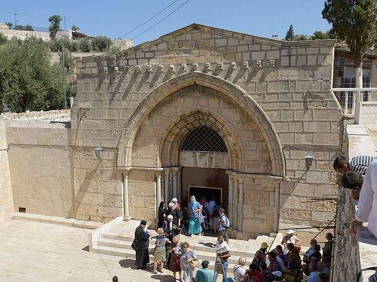 Храм Успения Пресвятой Богородицы в Гефсимании