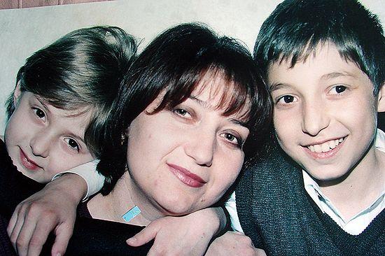 Семья до трагедии. Фото Фатимы Аликовой (Цаликовой)