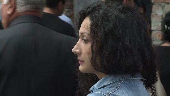Виктория Гусейнова. Кадр из фильма «Беслан. Память»