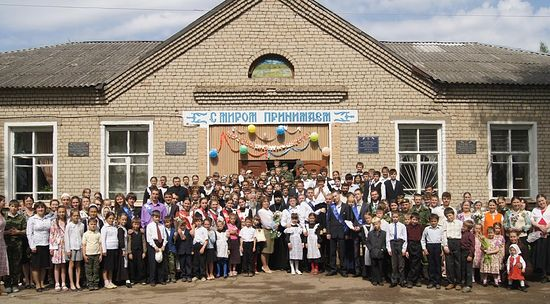 Ивановская на Лехте школа. Ярославская область