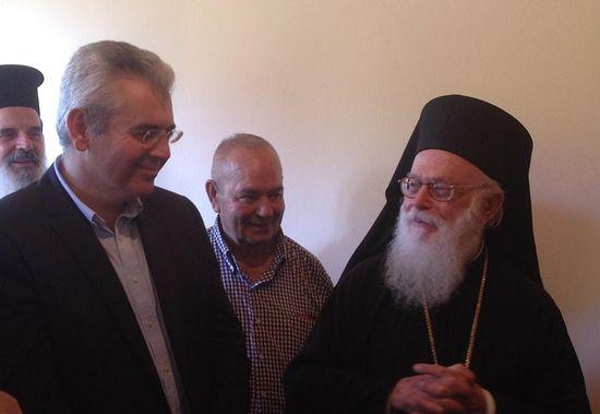М. Харакопулос и владыка Анастасий