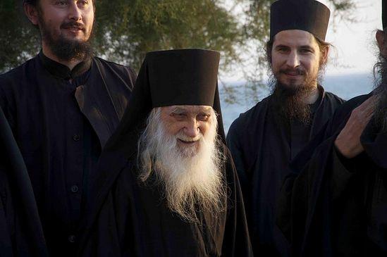Schema-Archimandrite Jeremiah, Abbot of St. Panteleimon Monastery, Mt. Athos.