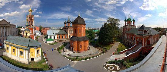Храм святителя Петра в Высоко-Петровском монастыре