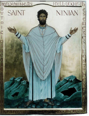 Saint Ninian of Whithorn. Photo: Orthochristian.com
