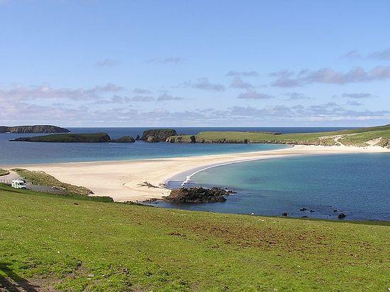 St. Ninian's Isle.