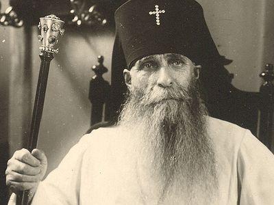 Новопрославленный святой митрополит Зиновий (Мажуга), в схиме Серафим
