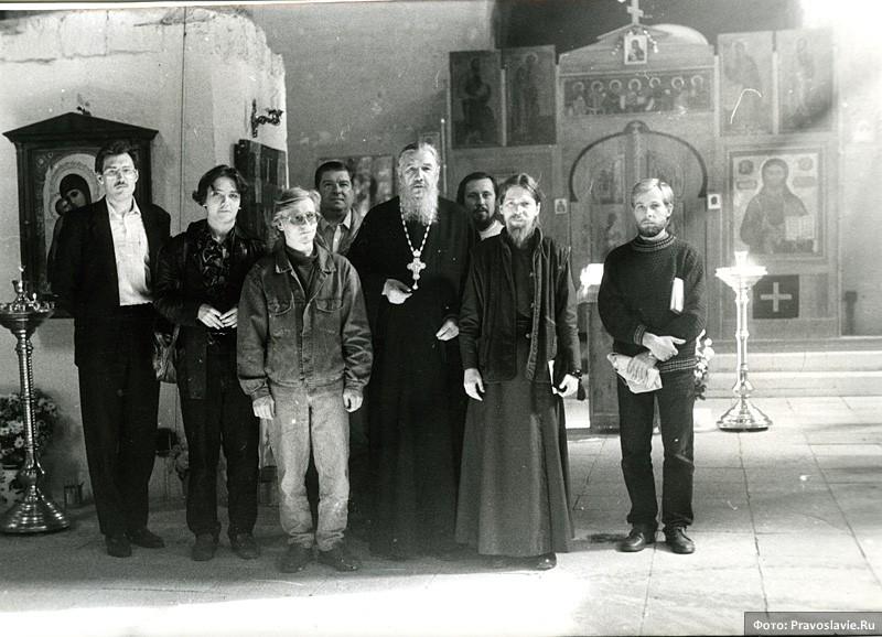 С архимандритом Антонием (Гулиашвили). Фото: Православие.Ru