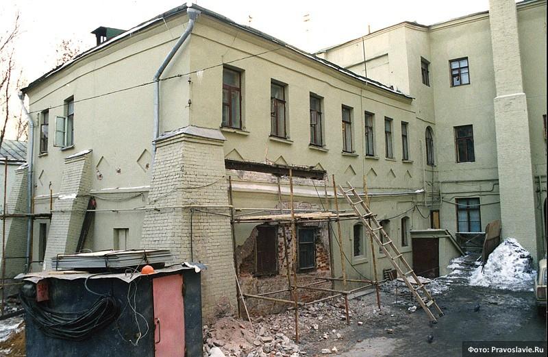 Ремонт трапезной. Фото: Православие.Ru