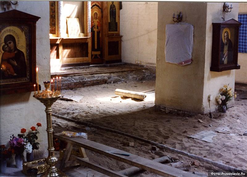 Пол в храме. Фото: Православие.Ru