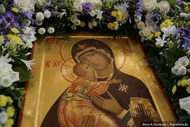 Владимирская икона Божией Матери. Фото: А. Поспелов / Православие.Ru