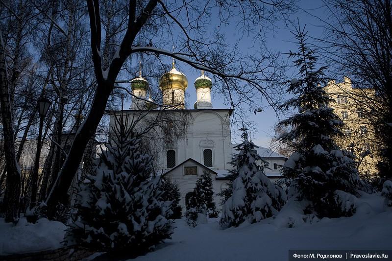 Собор в честь Сретения Владимирской иконы Божией Матери. Фото: М. Родионов / Православие.Ru