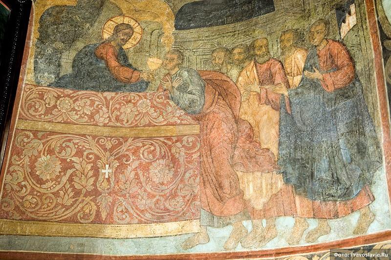 Росписи Алтаря. Фото: Православие.Ru
