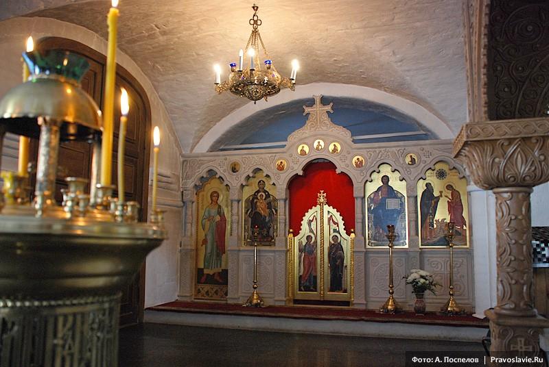 Придел в честь прп. Марии Египетской. Фото: А. Поспелов / Православие.Ru