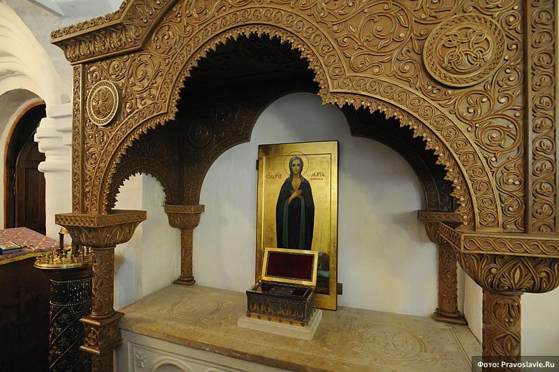 Мощи прп. Марии Египетской. Фото: Православие.Ru