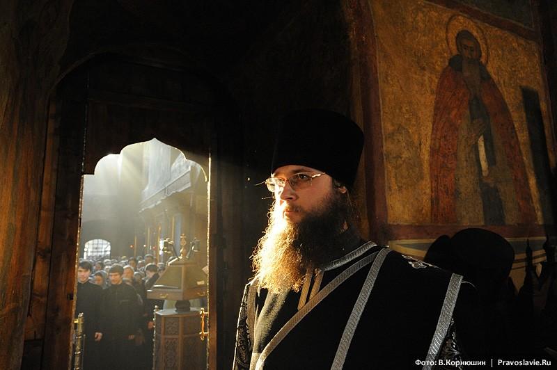 Иеродиакон Серафим. Фото: В. Корнюшин / Православие.Ru