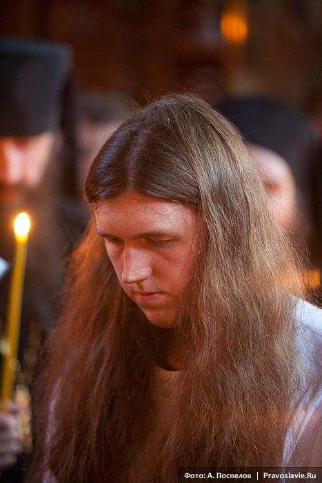 Постриг иеродиакона Никиты. Фото: А. Поспелов / Православие.Ru