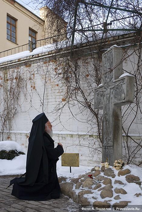 Блаженнейший архиепископ Тиранский и всей Албании (Яннулатос). Фото: А. Поспелов / Православие.Ru
