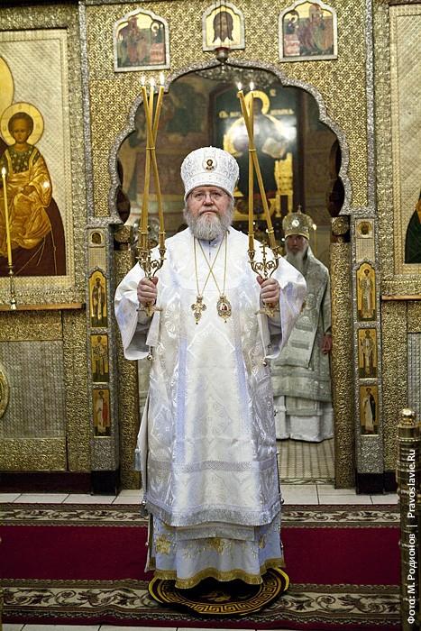 Митрополит Иларион, Первоиерарх Русской Православной Церкви Заграницей. Фото: М. Родионов / Православие.Ru