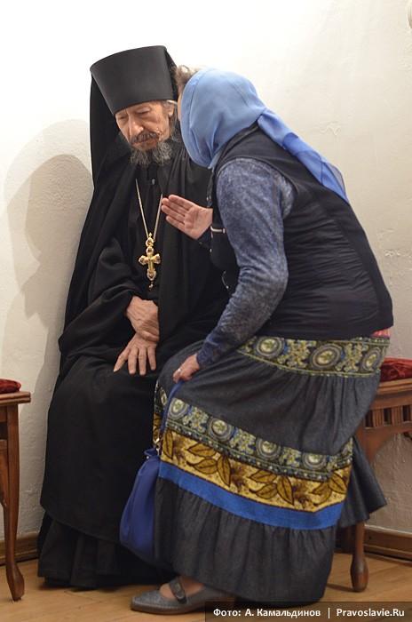Беседа. Фото: А. Камальдинов / Православие.Ru