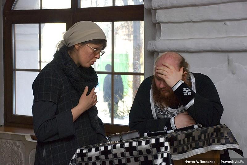 Исповедь прихожанки. Фото: А. Поспелов / Православие.Ru