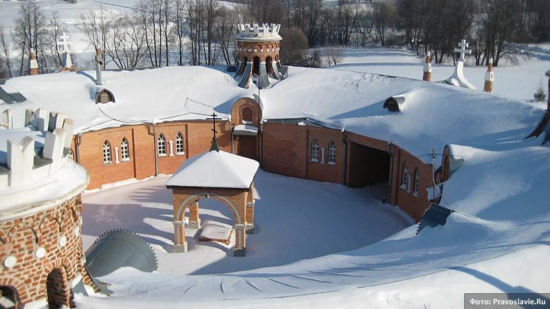 Отремонтированный корпус в скиту. Фото: Православие.Ru